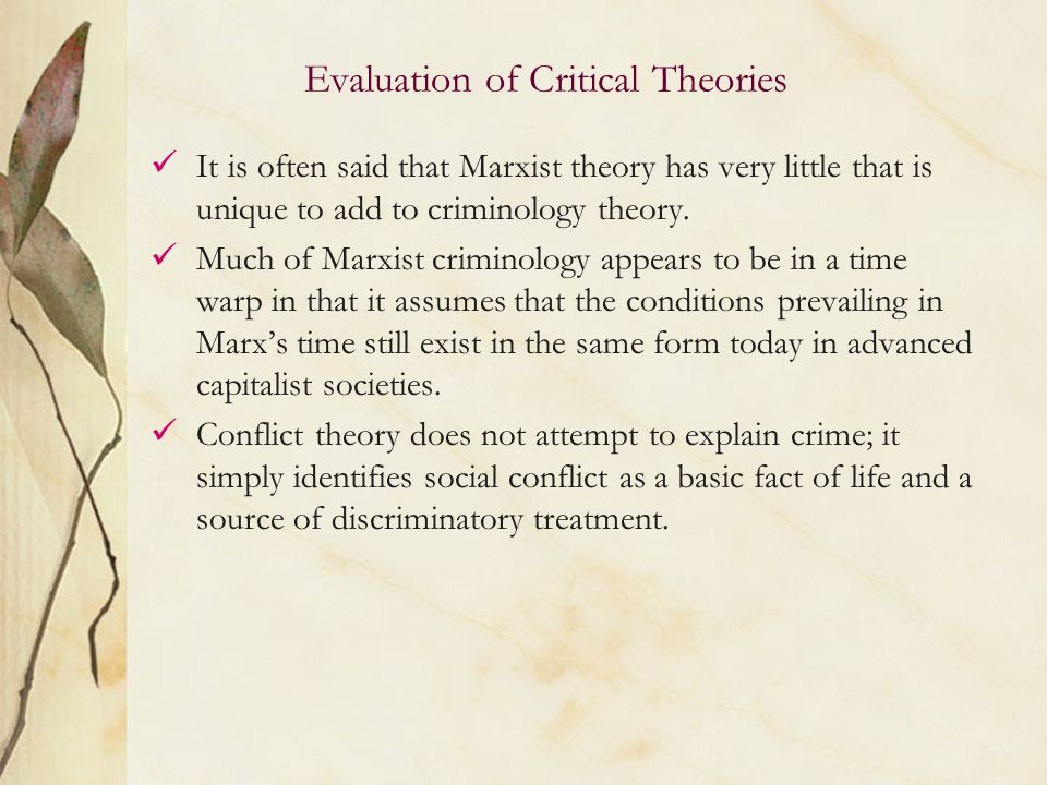 critically evaluate the marxist perspsctive of Get access to conclusion of marxist and functionalist perspective on education essays only from anti essays  critically evaluate the functionalist perspective on .