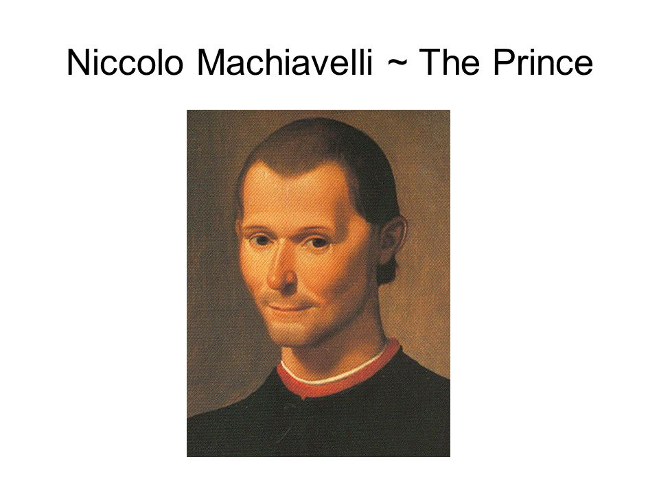 What Was Machiavelli's View Of Human Nature
