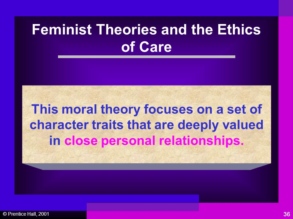 """feminist thought and ethics of care And of the importance of care work, suggests a feminist theory of justice and   citizenship, and independence: a critique of pure family values,"""" ethics 105 (3), ."""