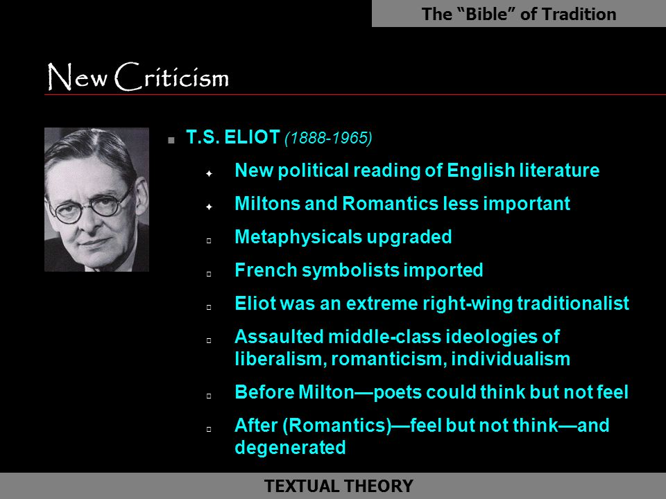 """t s eliot and the objective correlative Objective correlative ts eliot used this phrase to describe """"a set of objects, a situation, a chain of events which shall be the formula of that particular emotion"""" that the poet feels and hopes to evoke in the reader ( """"hamlet,"""" 1919."""