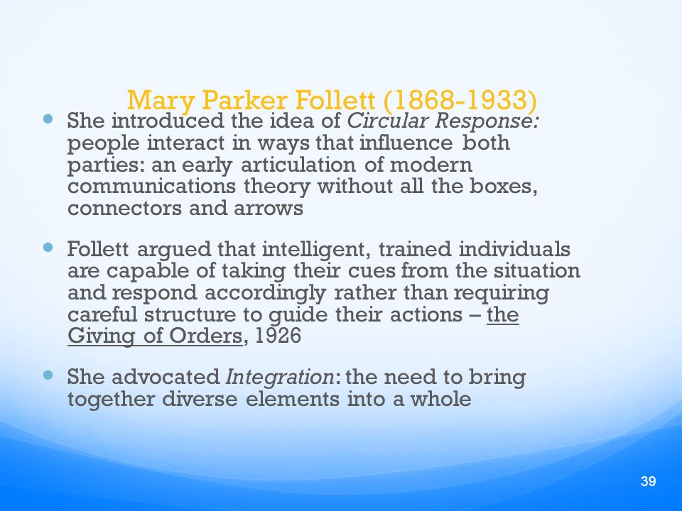 compare and contrast the theories of scientific management with that of the human relations manageme Compare and contrast the scientific management theorist frederick winslow taylor and the human relations management theorist mary parker follett models have.