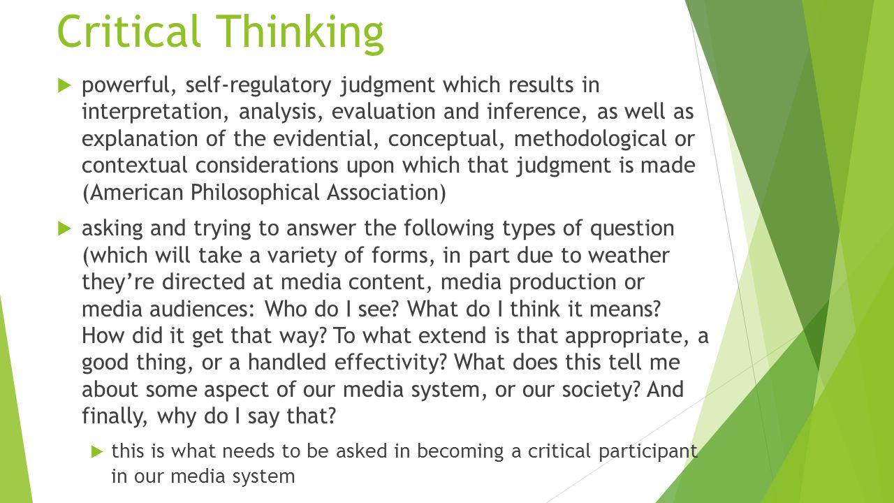 american philosophical association critical thinking Philosophy & critical thinking online via distance learning  association for informal logic and critical thinking apa - american philosophical association .