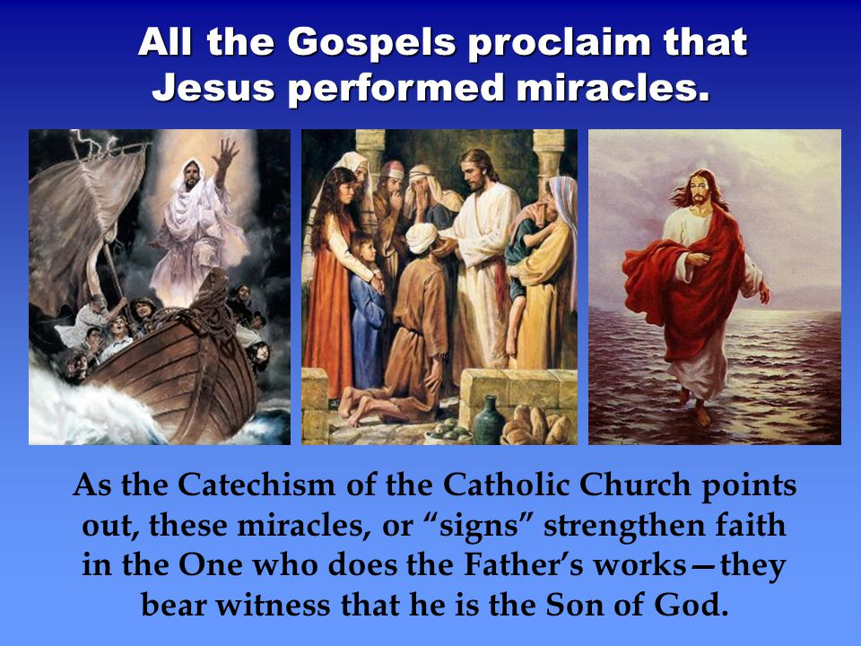 "eight signs miracles jesus performed and The seven miracles in john wednesday october 18th, 2017 about 10 minutes to read ""jesus performed many other signs in the presence of his disciples."