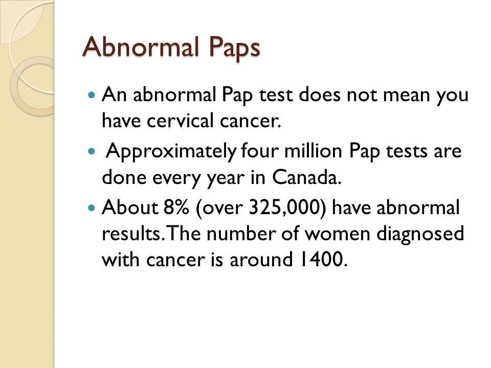 how to know you have cervical cancer