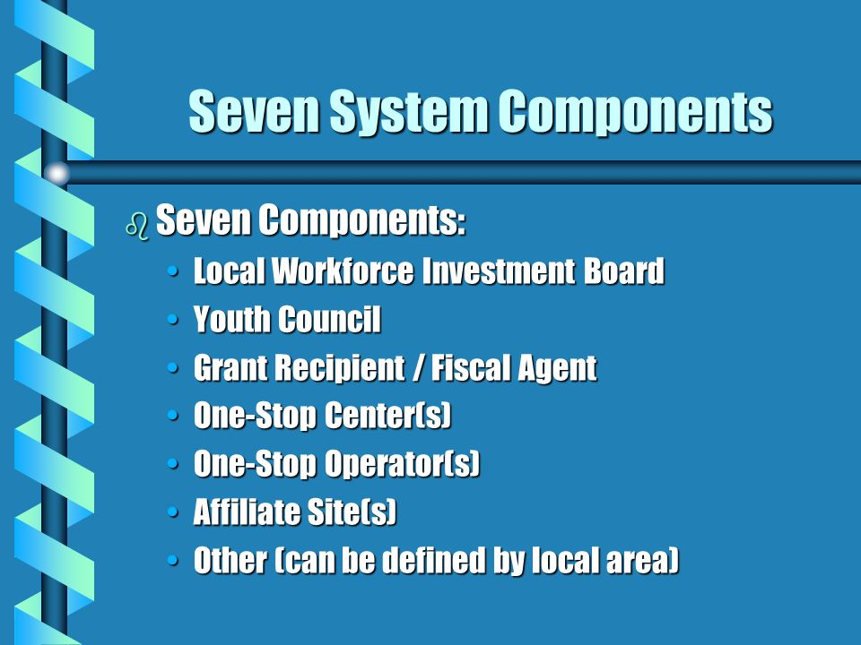 Seven System Components