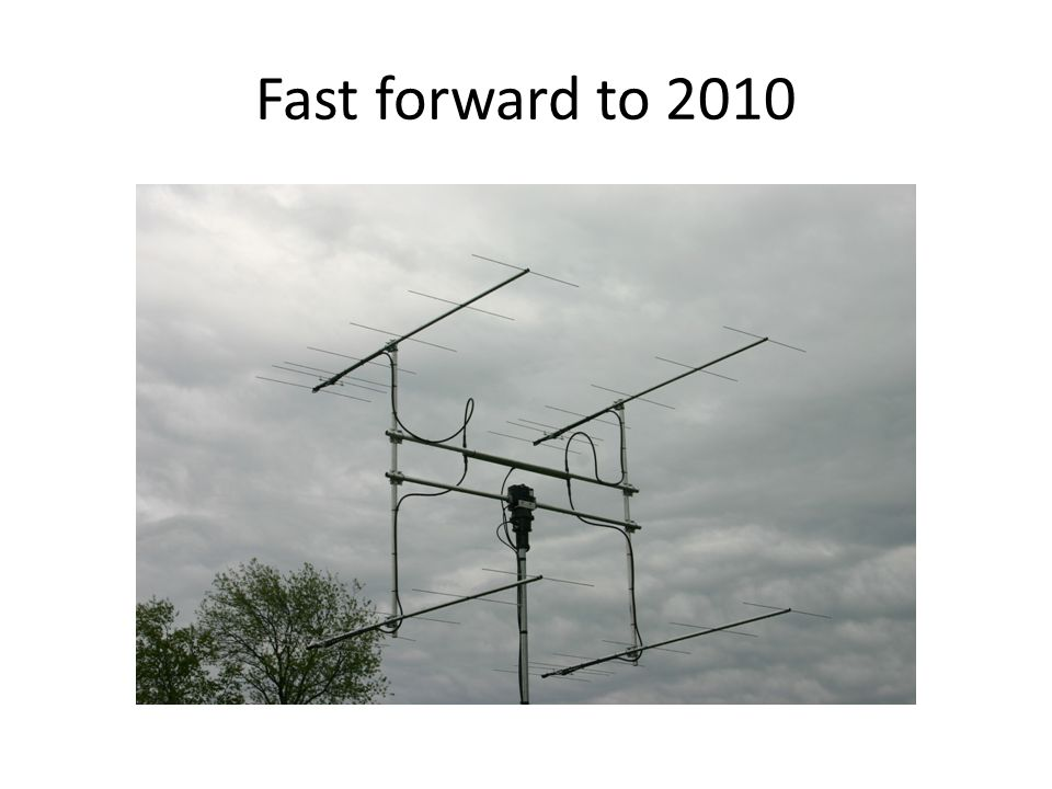Fast forward to 2010