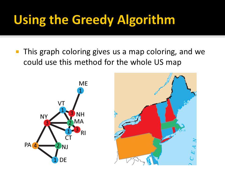 42 Using The Greedy Algorithm