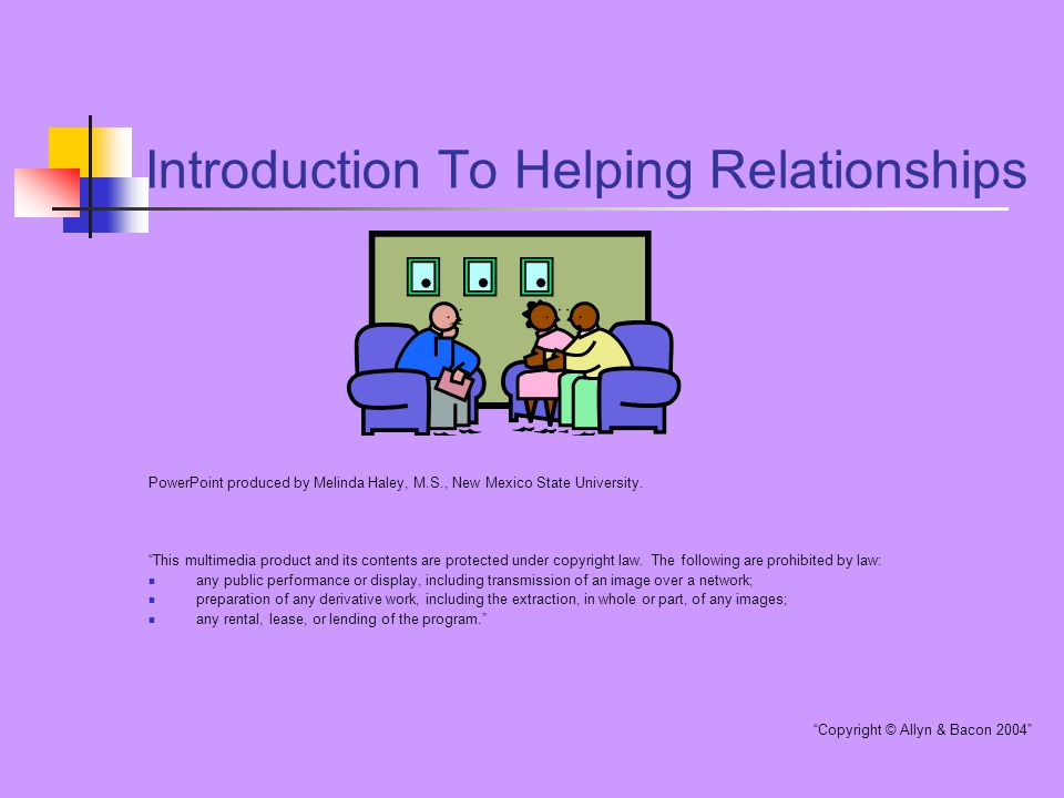 showing relationships in powerpoint
