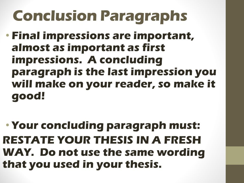 essay writing hamburger helper style ppt video online  13 conclusion paragraphs