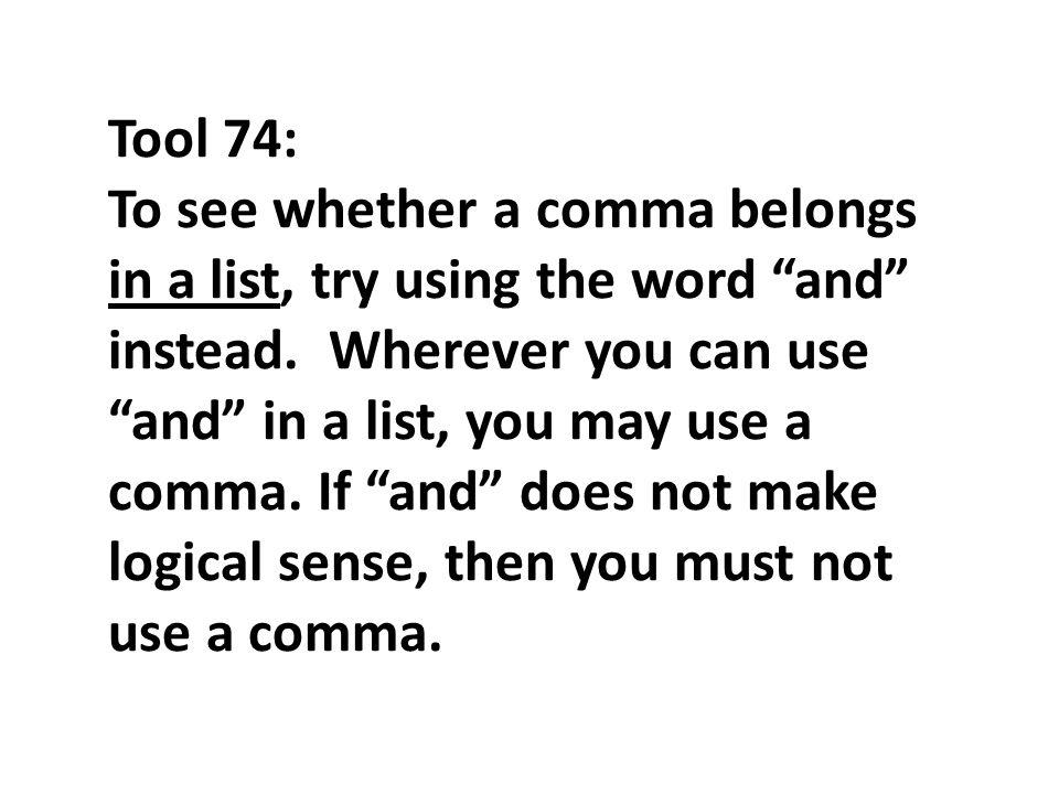 Instead Word