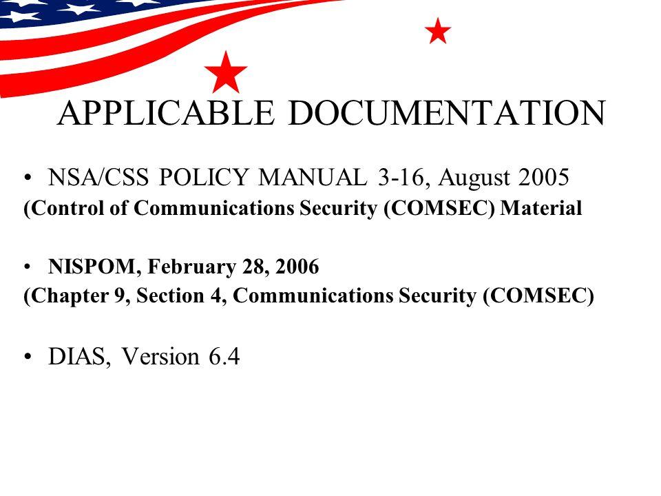 nsa css policy manual 3 16 pdf