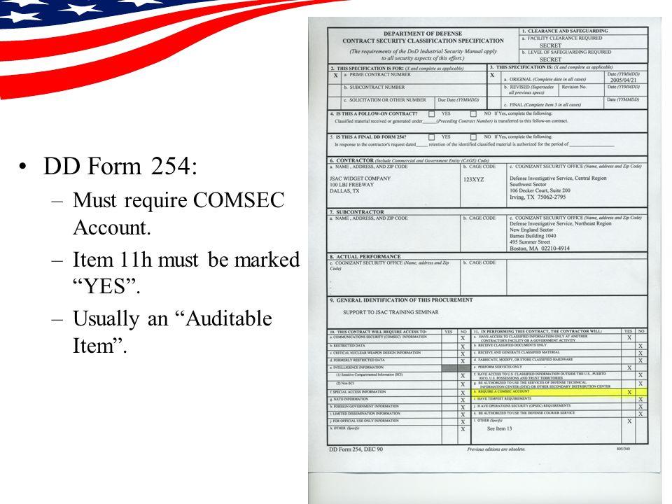COMSEC ACCOUNTS Presented by: Steven R. Meaux COMSEC Custodian ...