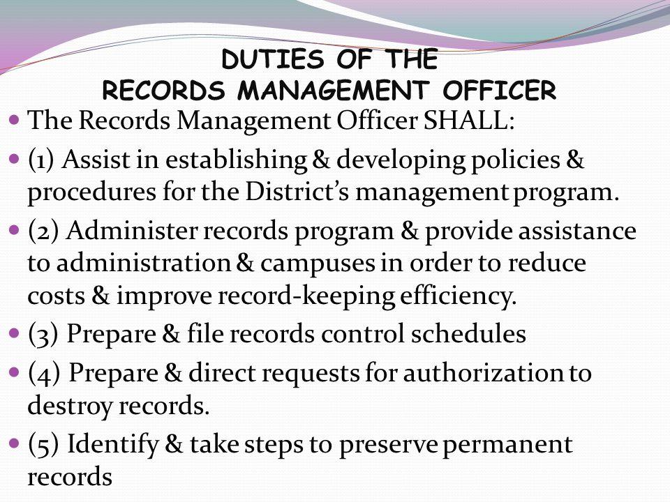 BISD Records Management - ppt download