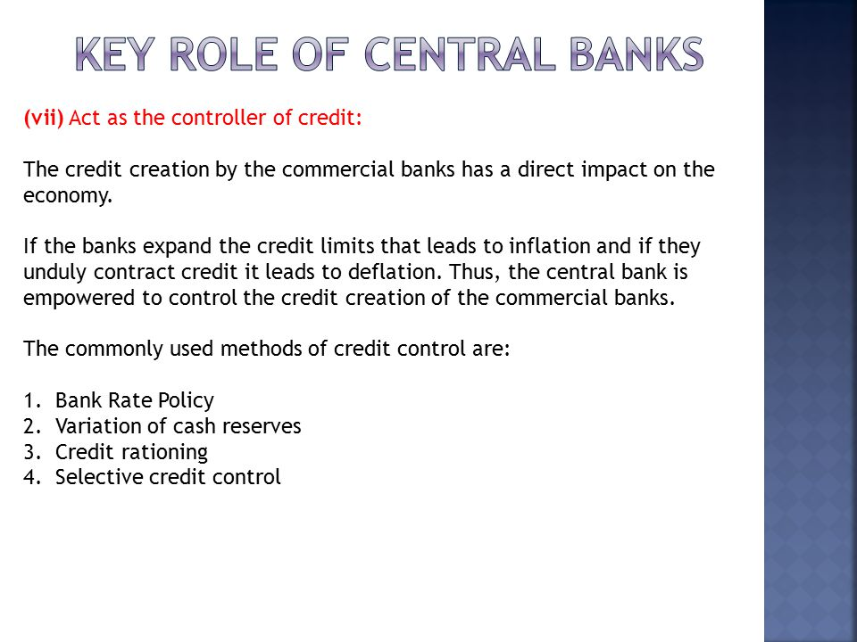 What are the important methods of credit control ?