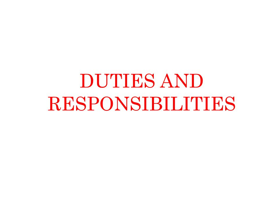 the duties and responsibilities of my It support job description  if you believe the cliché,.