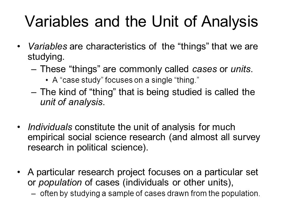 What Is the Meaning of Variables in Research? | Sciencing