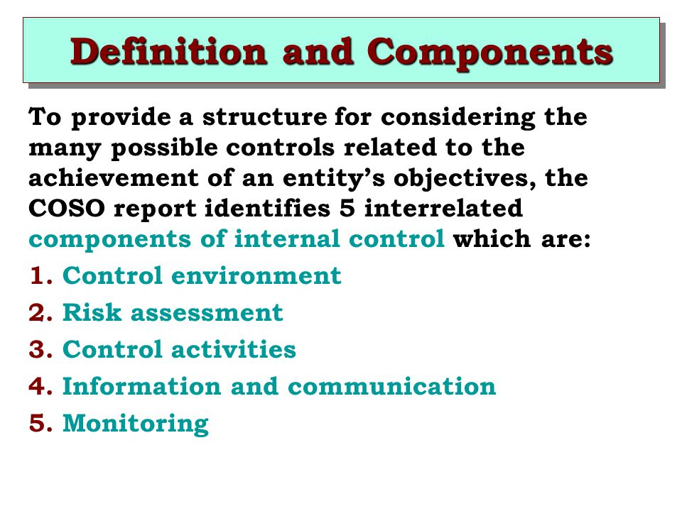 Definition and Components