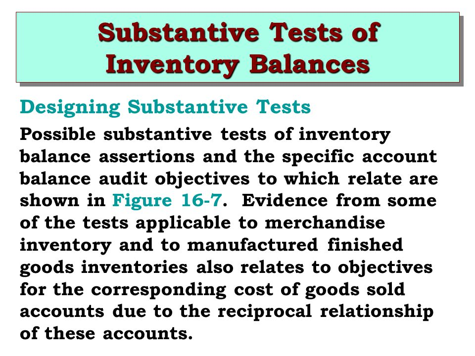 objectives in the audit of inventories The objective of this audit was to determine if lac holdings were effectively   inventory management, the focus was on examining the analogue holdings.