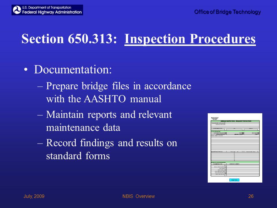 National Bridge Inspection Standards (NBIS) - ppt video online ...