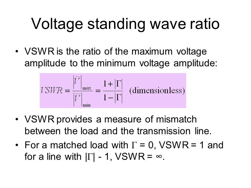 Standing Wave Ratio : Universiti malaysia perlis ppt video online download