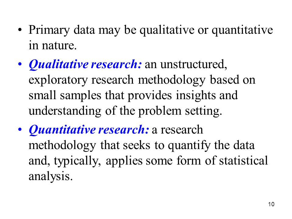 the nature of qualitative studies Part ii overview of qualitative methods  depending on the nature of a given project  the art and method of qualitative interview studies new york: free press.
