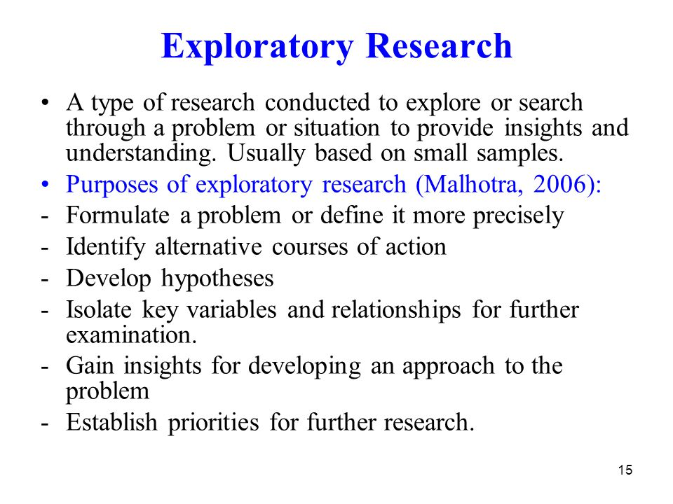 exploratory market research Qualitative research is designed to explore the human elements of a given topic, while specific qualitative methods examine how individuals see and experienc.