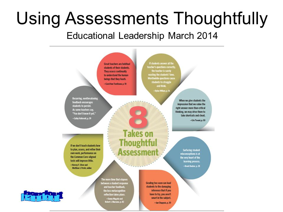 Understanding the principles and practices of assessment