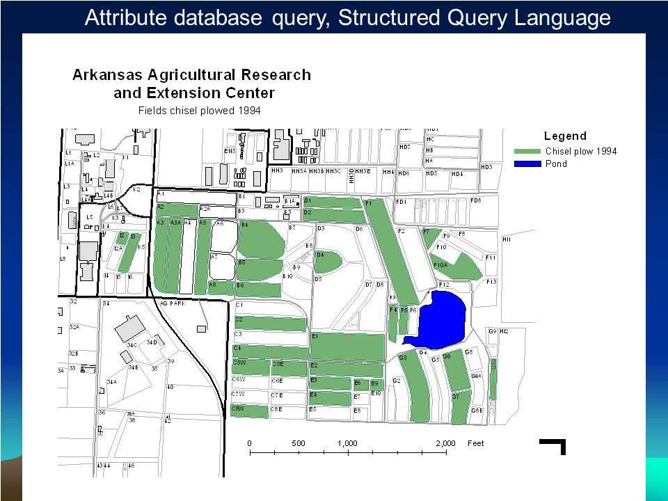 Attribute database query, Structured Query Language (SQL) Map Result