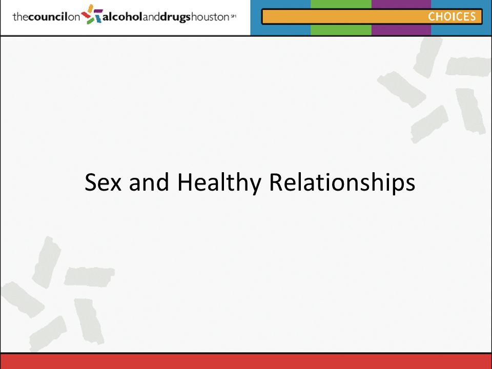 Healthy marriage and sex