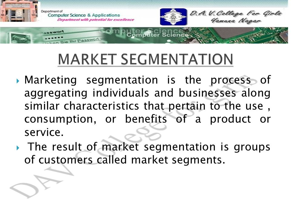 an introduction to benefit segmentation Segmentation, targeting and positioning of toothpaste industry introduction market segmentation by definition market targeting and positioning of toothpaste.