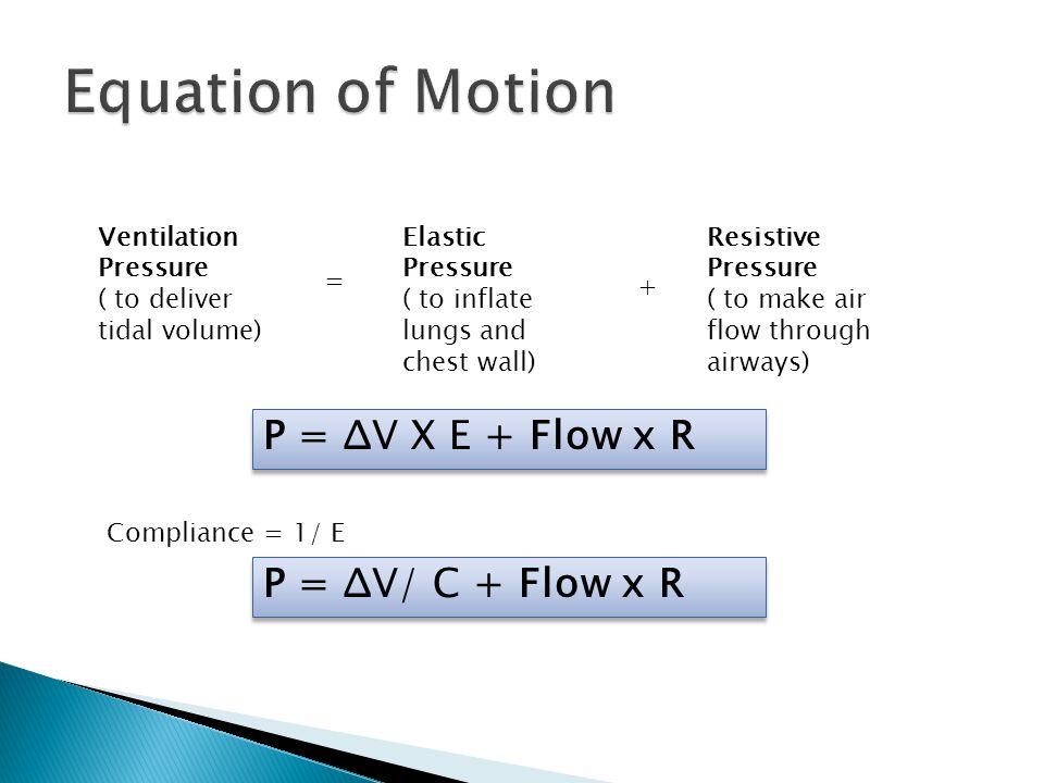 Equation Of Motion P D Ce V X E B Flow X R P D Ce V F C B Flow X R