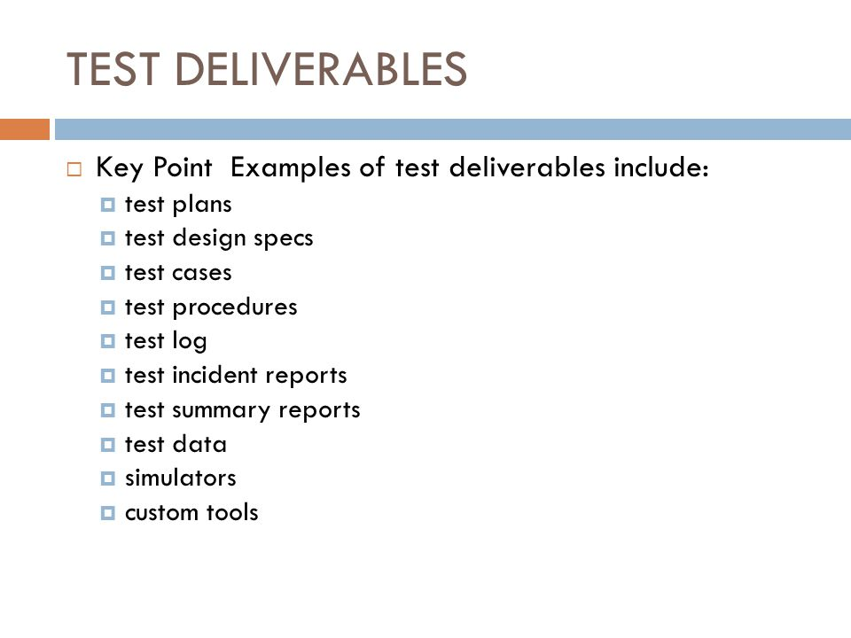 Test Plan  Ppt Download