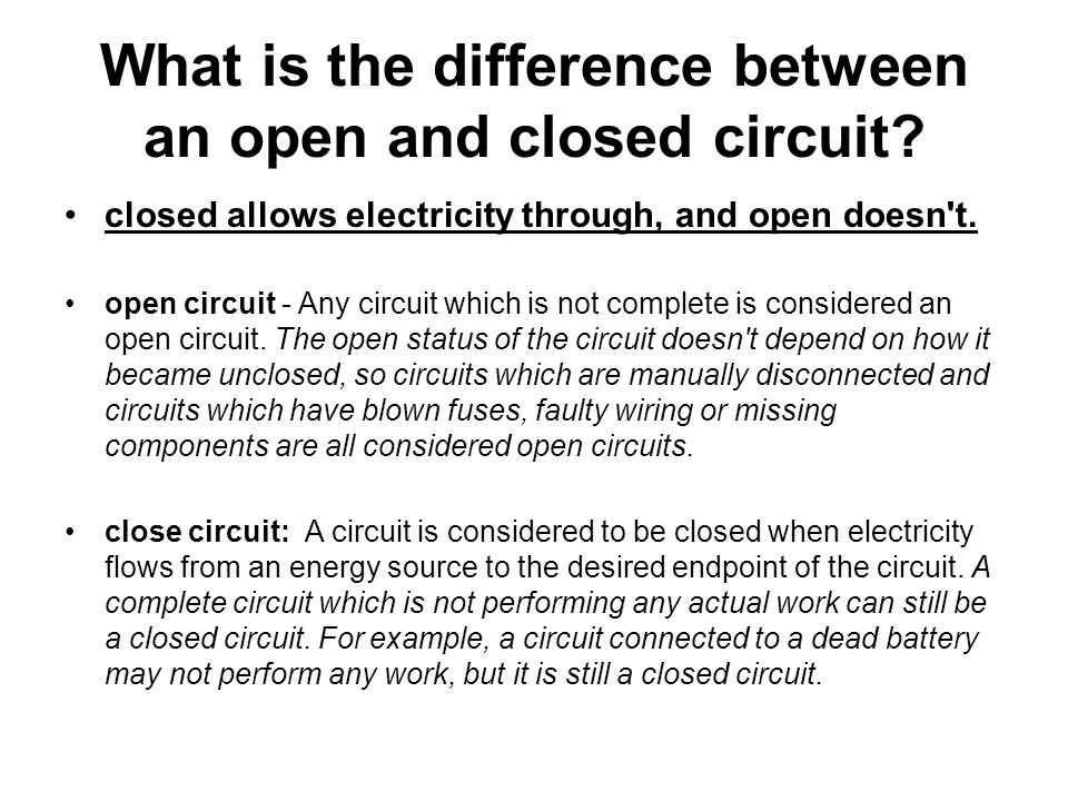 Difference Between Open and Closed Questions