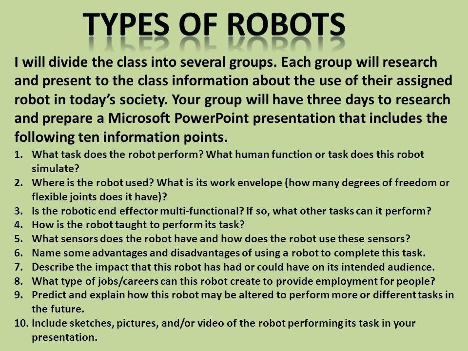 Advantages of robotics 4 - 2 part 2