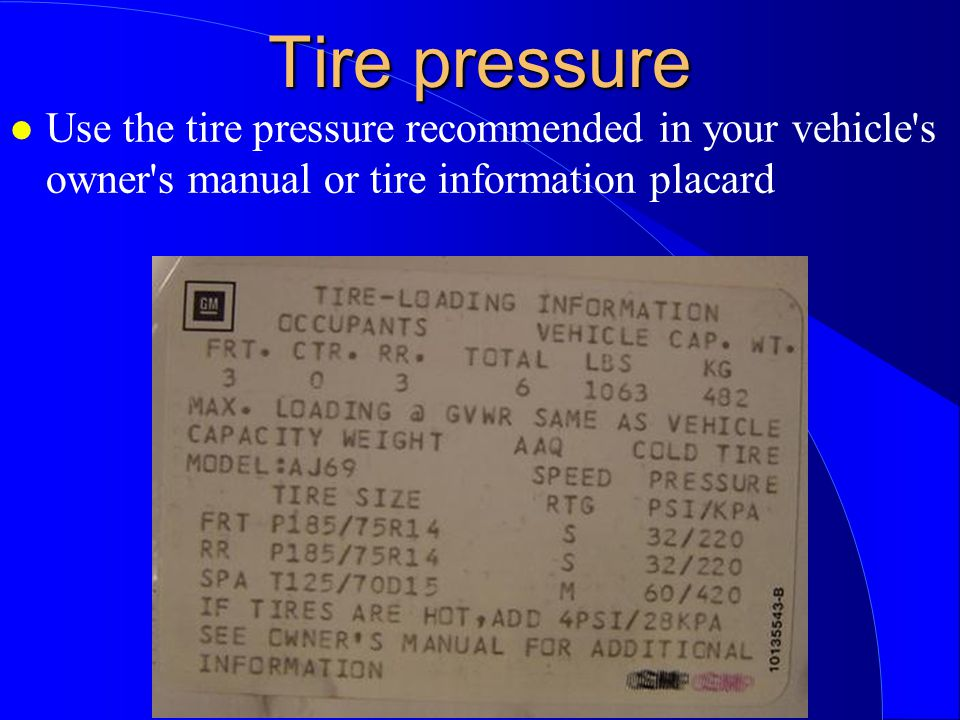 Tire Tech 101 What is a tire made of ppt video online
