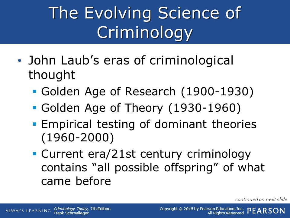 thesis criminology
