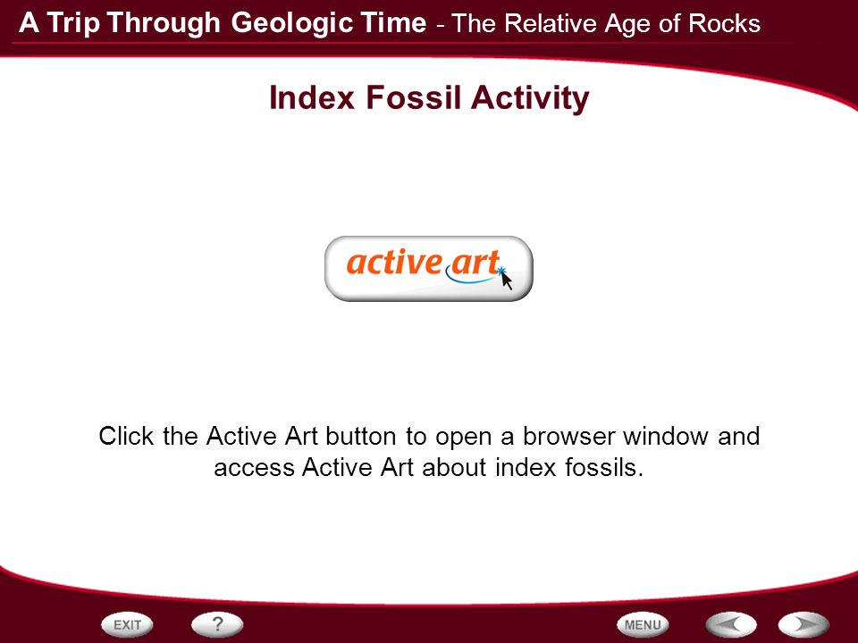 dating the fossil record activity answers