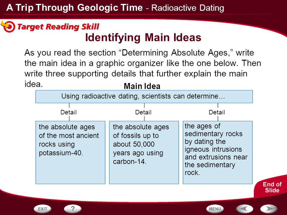 Do Geologists Use Radioactive Hookup To Find The Absolute Ages Of Rocks