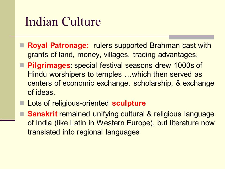advantages of western culture in india The city is the birthplace of modern indian literary and artistic thought and of  indian  the blending of eastern and western cultural influences over the  centuries.