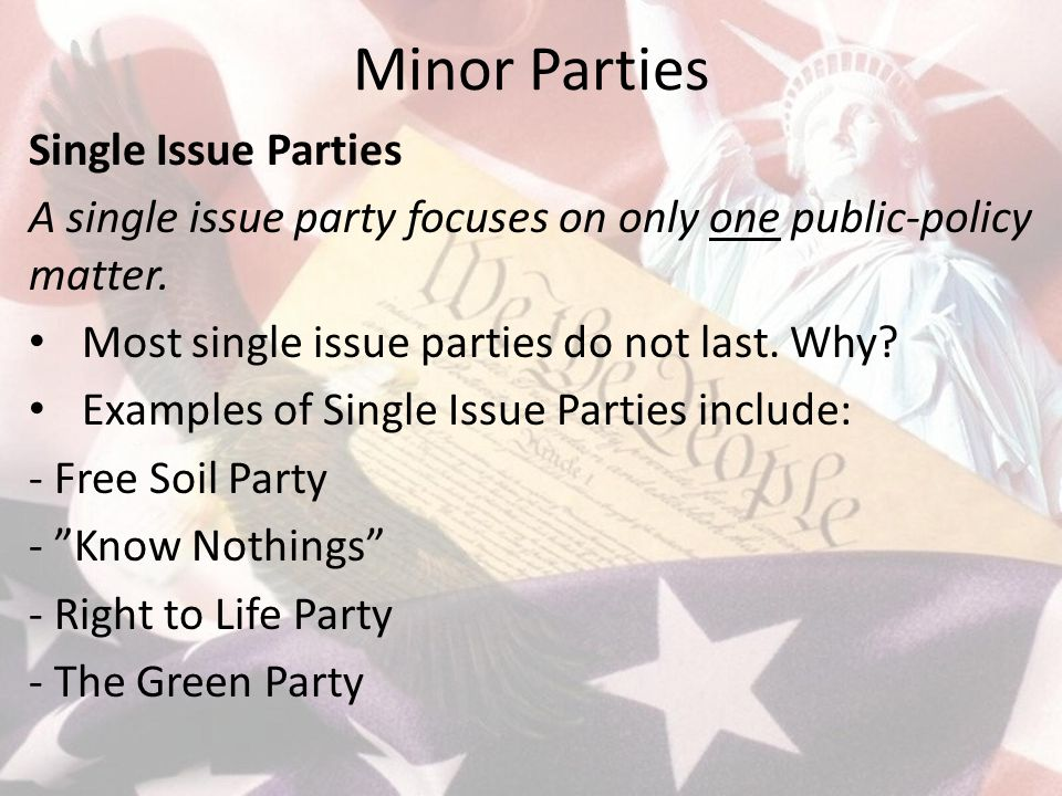 minor parties Minor parties play the media game well but their share of the vote is not matching their share of the airtime.