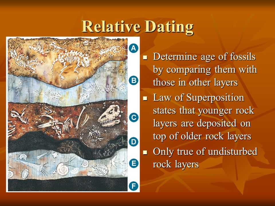 Best method for dating fossils