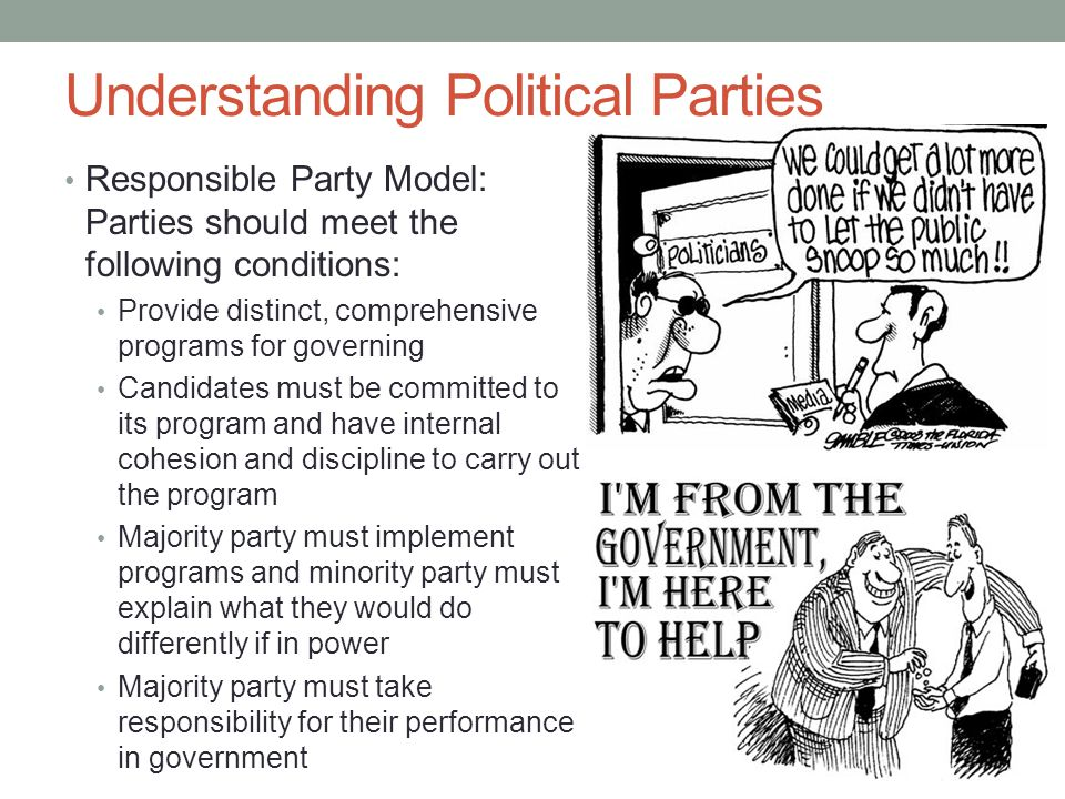 Political party and discipline