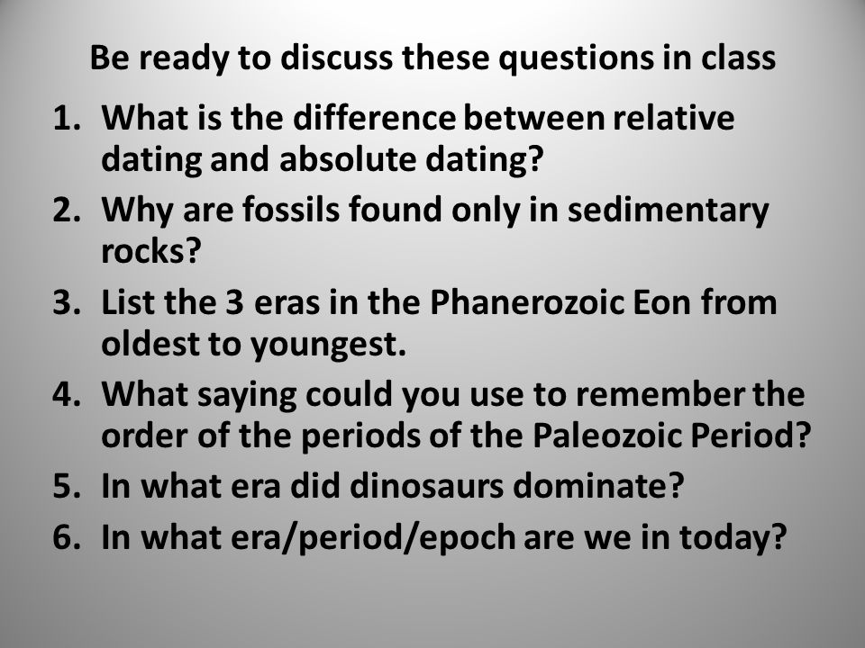 absolute dating regents questions And radiometric dating geologic history regents questions radiometric dating questions such as radiometric dating find the absolute age.