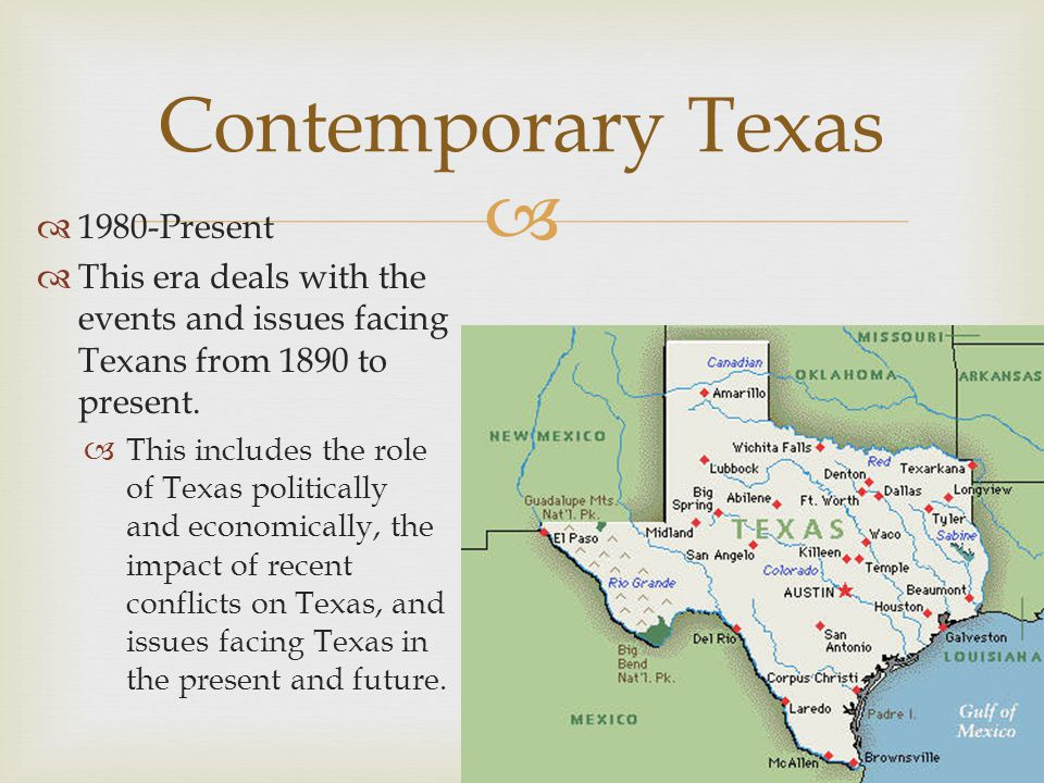 the conflicts in the history of texas The texas revolution (october 2, 1835 – april 21, 1836) was a rebellion of  colonists from the  mexico refused to recognize the republic of texas, and  intermittent conflicts between the two  it was the deadliest single battle in texas  history.