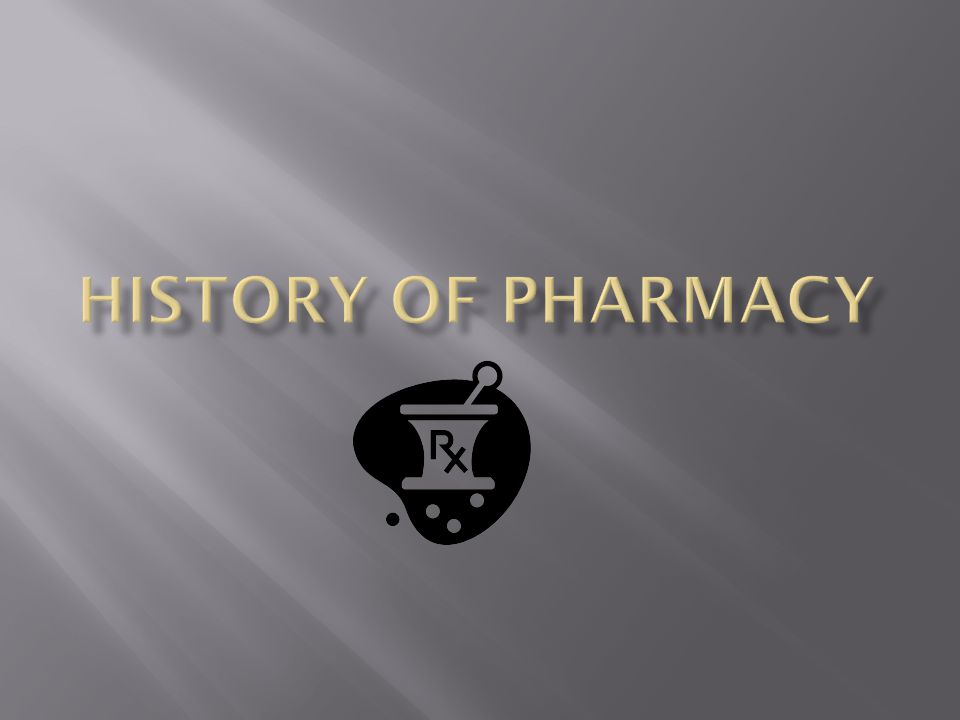 history of pharmacy pdf download