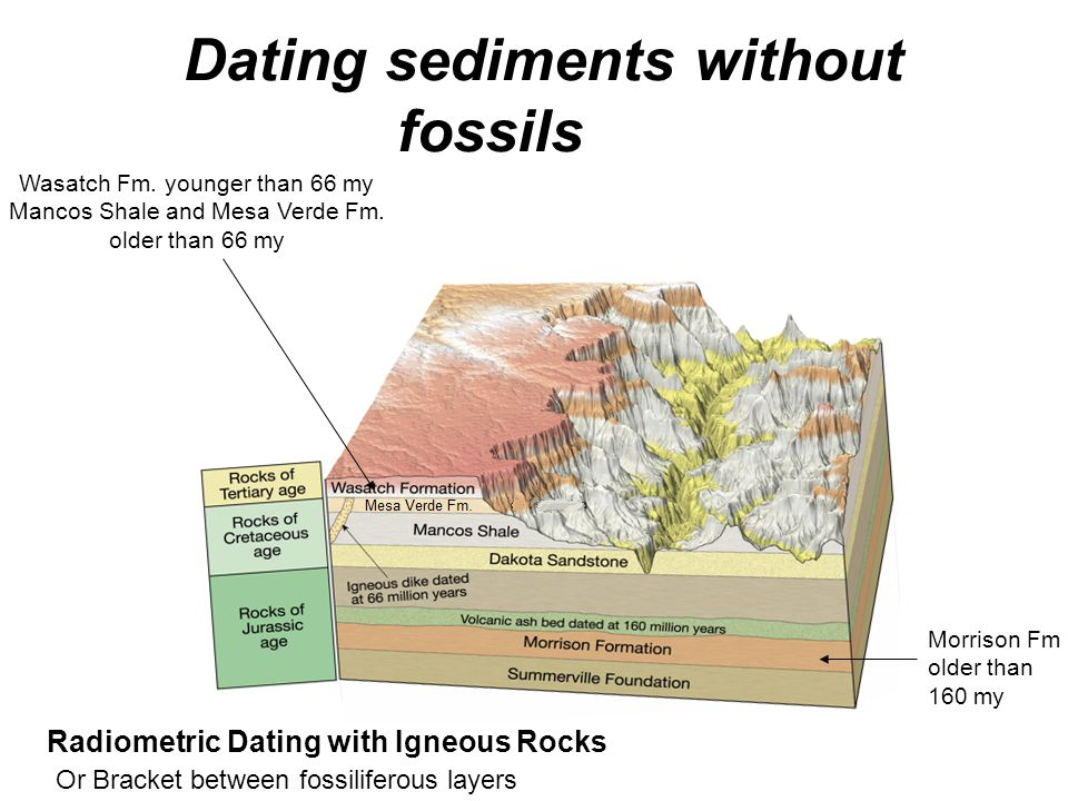 Dating Rocks Using Fossils Physical Geology