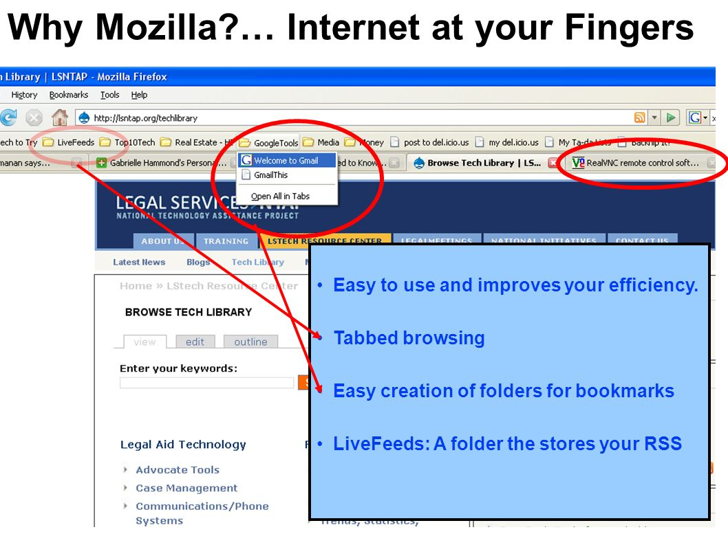 Why Mozilla … Internet at your Fingers