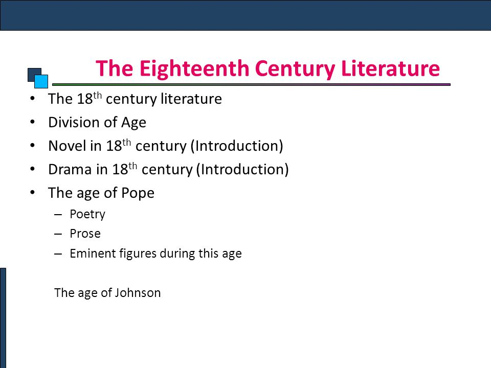 18th century poetry View 18th century poetry research papers on academiaedu for free.