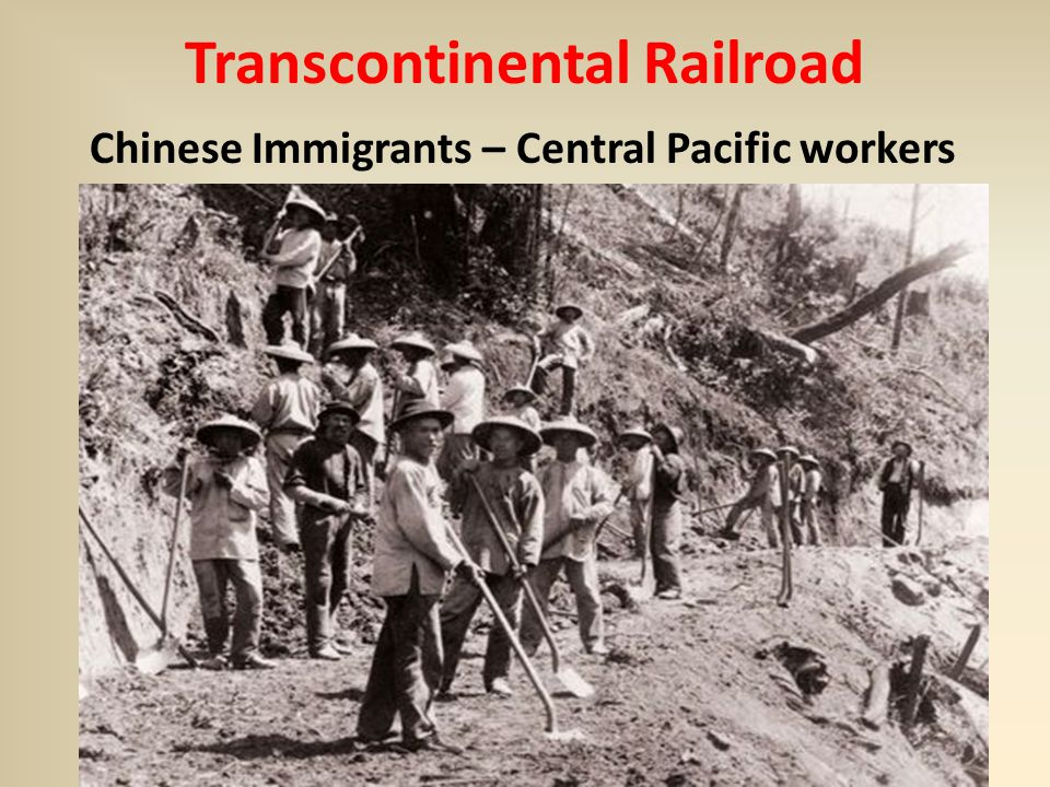 chinese immigrants importance to the transcontinental National archives this photograph was taken 148 years ago today, when the last spike in the first transcontinental railroad was driven at promontory point in the utah territory.