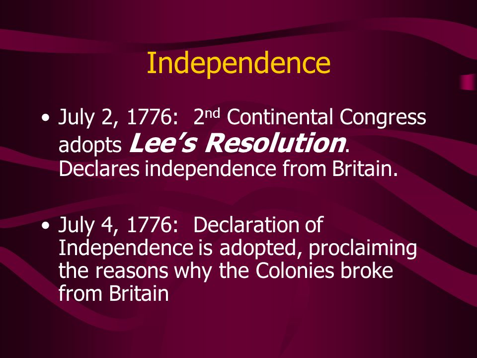 the justification for the colonists decralaration of independence from england The declaration of independence was basically a long letter of the many  grievances that the english king had committed against the colonist having all  those.
